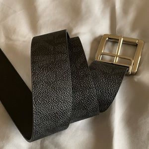 Michael Kors monogram print belt
